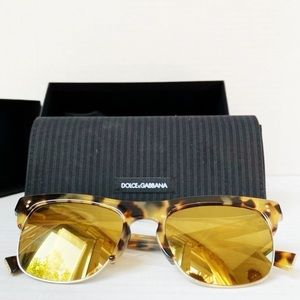 NWT Dolce & Gabbana Clubmaster Sunglasses